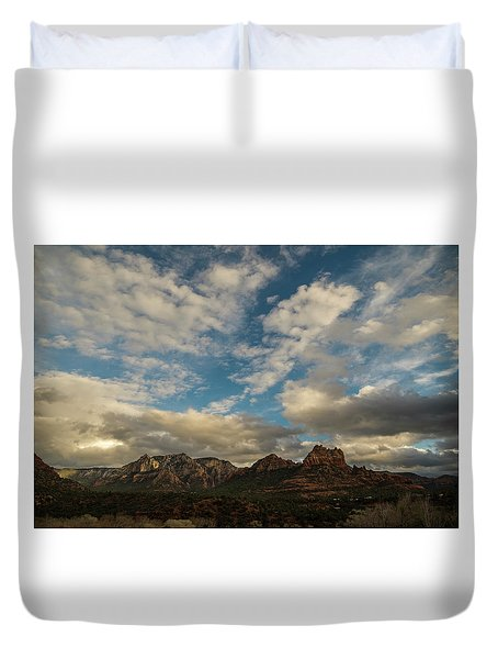 Sedona Arizona Redrock Country Landscape Fx1 Duvet Cover