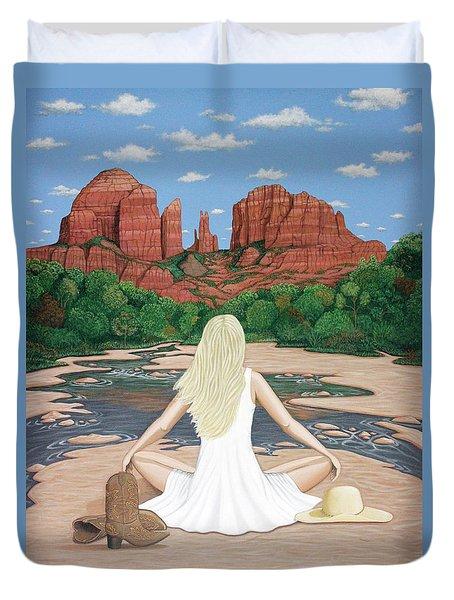 Sedona Breeze  Duvet Cover