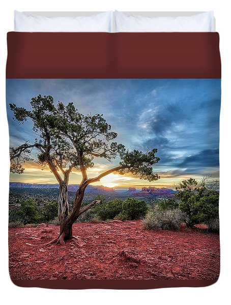 Sedona In The Morning Duvet Cover