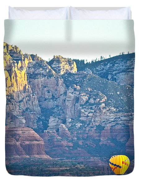 Sedona Morning  Duvet Cover