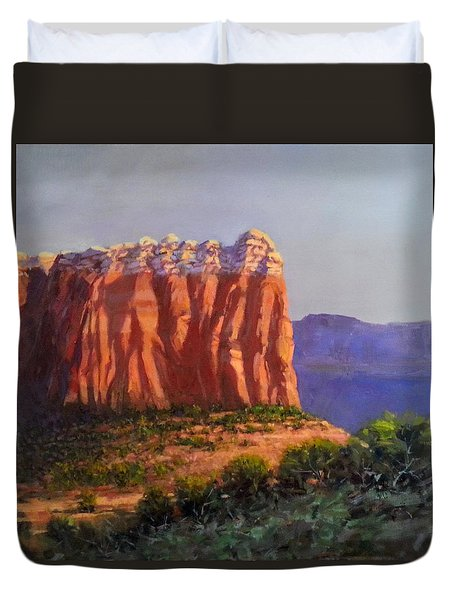 Sedona Red Rocks Duvet Cover