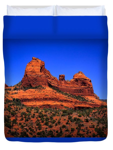 Sedona Rock Formations Duvet Cover