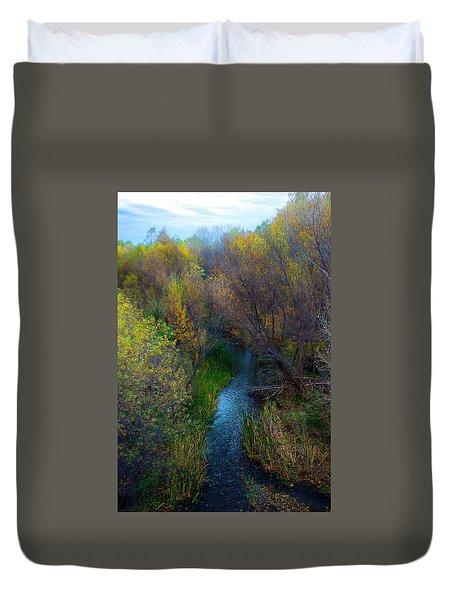 Sedona Stream Duvet Cover