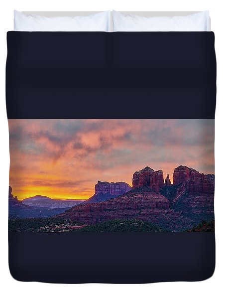 Sedona Sunrise Duvet Cover