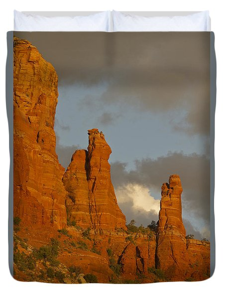 Sedona Sunset Duvet Cover