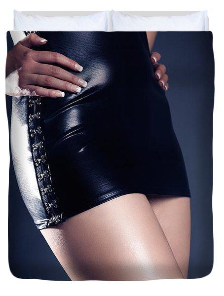 Seductive Woman Duvet Cover by Oleksiy Maksymenko