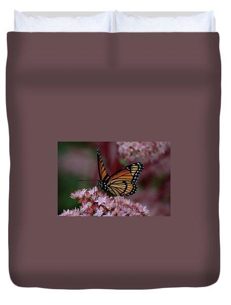 Sedum Butterfly Duvet Cover