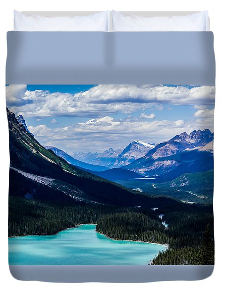 See Far Duvet Cover