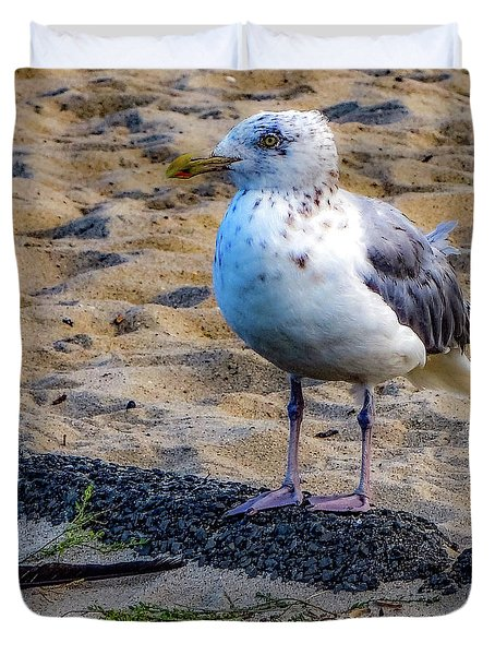 See The Gull Duvet Cover