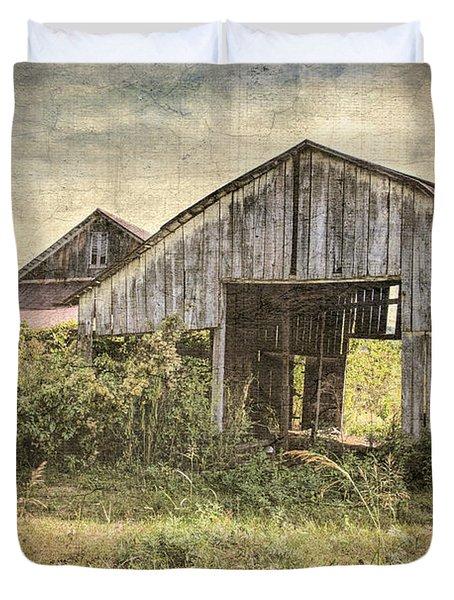 See Thru Barn  Duvet Cover