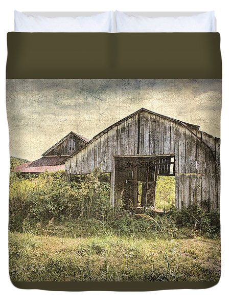See Thru Barn  Duvet Cover by Betty Pauwels