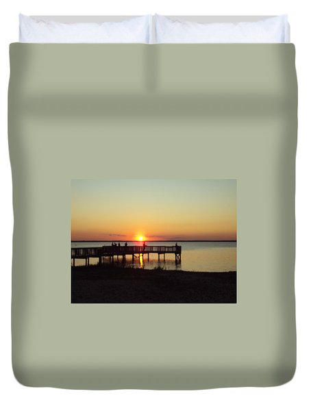 See You Tomorrow Duvet Cover