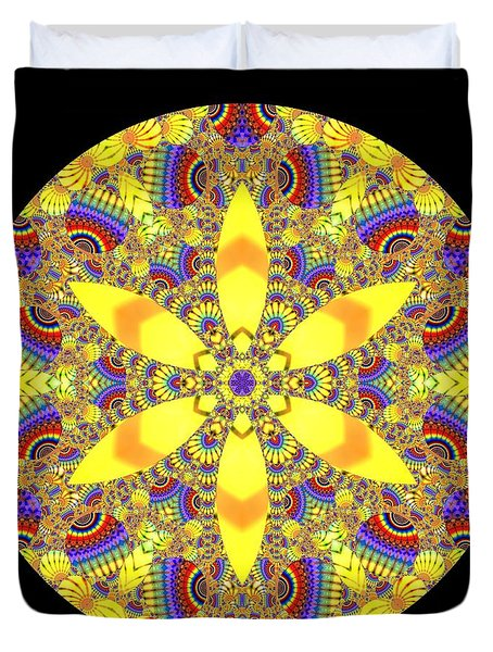Duvet Cover featuring the digital art Seed Of Life  by Robert Thalmeier