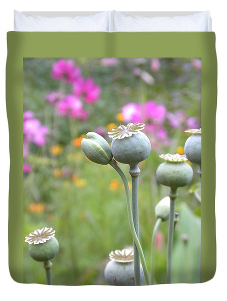 Seed Pods Duvet Cover