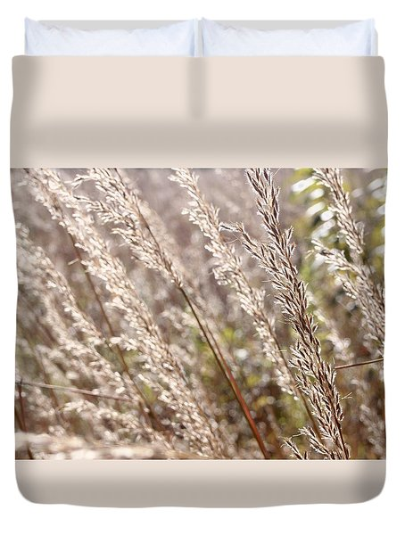 Seeds Of Autumn Duvet Cover