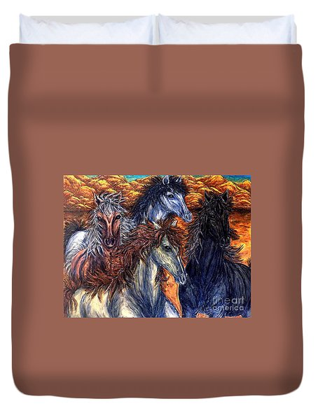 Seeds Of Independence Duvet Cover