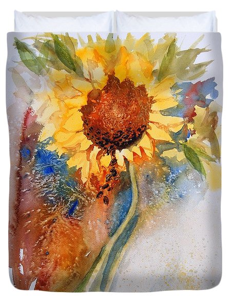 Seeds Of The Sun Duvet Cover