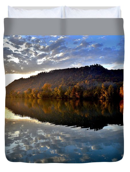 Seeing Double Duvet Cover