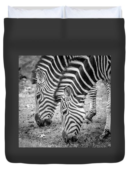 Seeing Double Duvet Cover by Wade Brooks