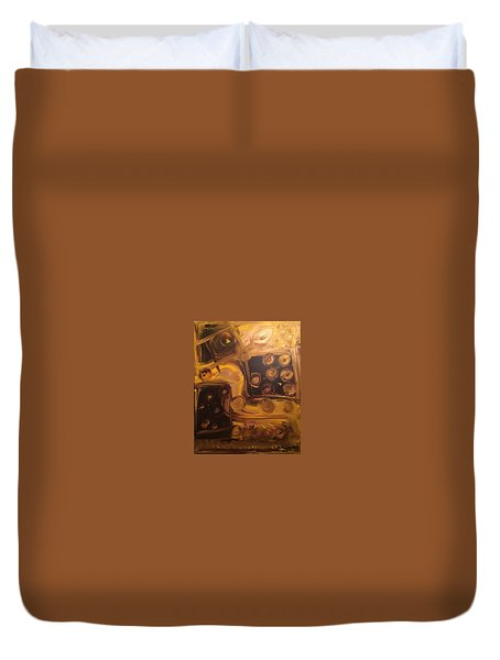 Seeing Into Space Duvet Cover
