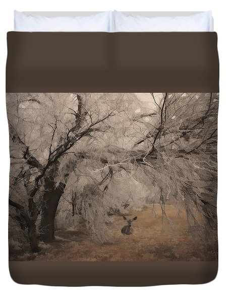 Seeking Shelter Duvet Cover