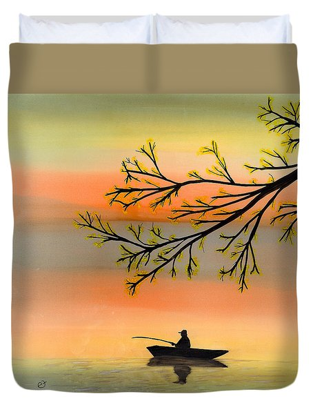 Seeking Solitude Duvet Cover