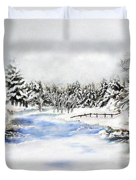 Seeley Montana Winter Duvet Cover