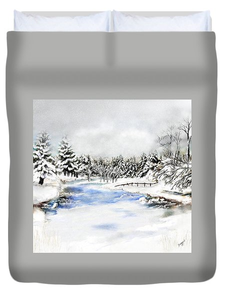 Seeley Montana Winter Duvet Cover