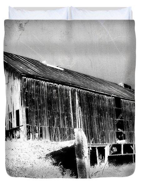 Seen Better Days Duvet Cover by Julie Hamilton