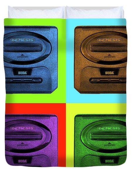 Sega Genesis Duvet Cover