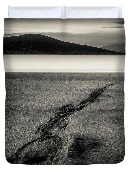 Seilebost Sand Tracks Duvet Cover