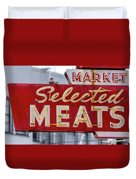 Selected Meats Duvet Cover