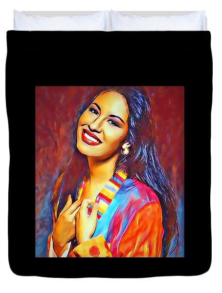 Selena Queen Of Tejano  Duvet Cover