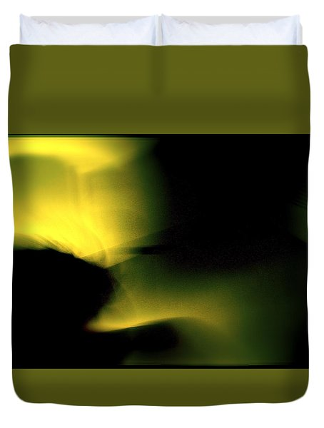 Duvet Cover featuring the photograph Self Play Motion by Danica Radman
