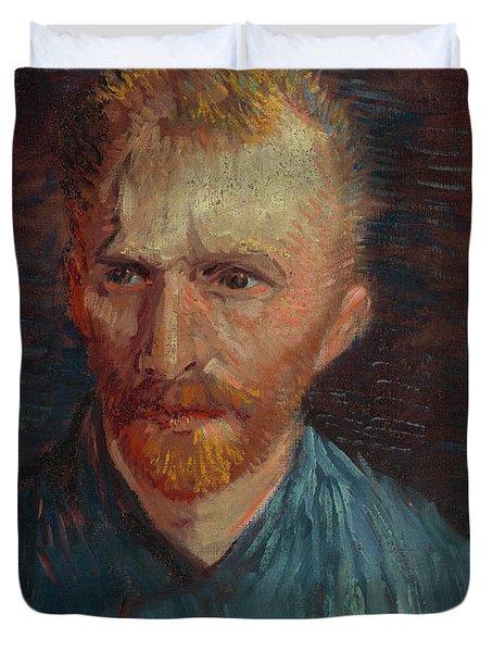 Self-portrait-1 Duvet Cover