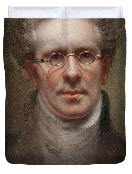 Self Portrait Duvet Cover by Rembrandt Peale