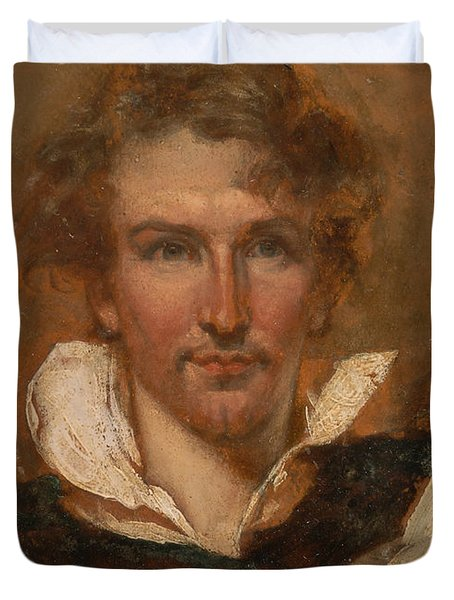 Self Portrait Duvet Cover by William Etty