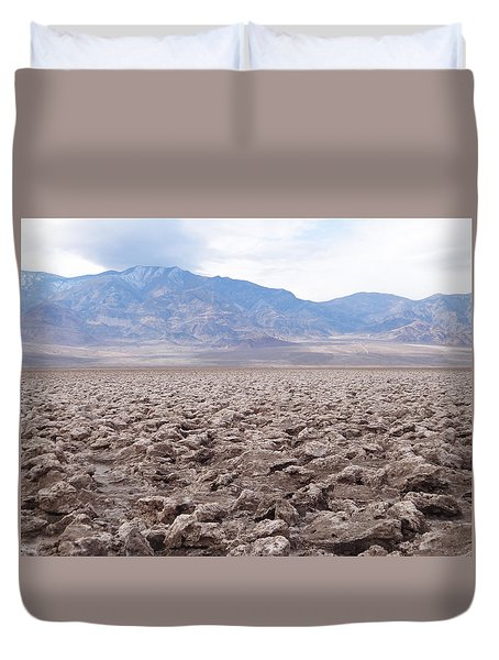 Duvet Cover featuring the photograph Self-reflection  by Brandy Little