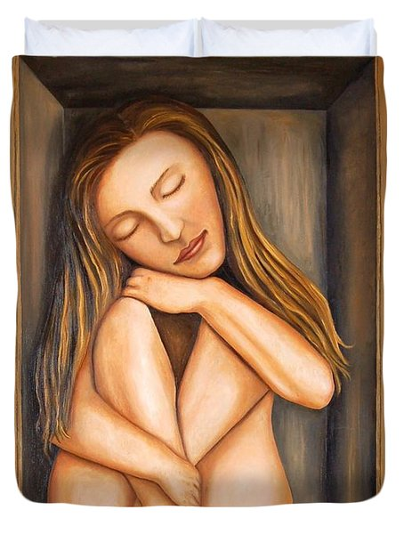 Self Storage Duvet Cover by Leah Saulnier The Painting Maniac