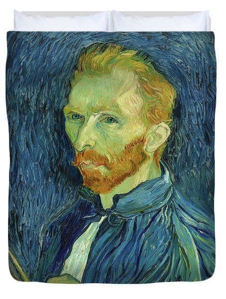 Self-portrait Vincent Van Gogh Duvet Cover