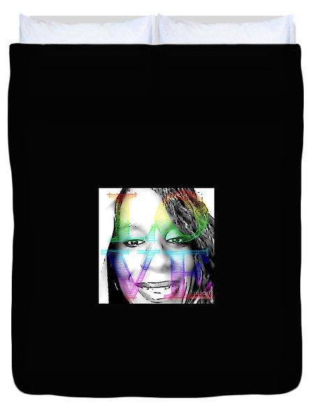 Selfies Duvet Cover