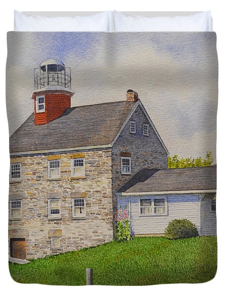 Selkirk Lighthouse Duvet Cover