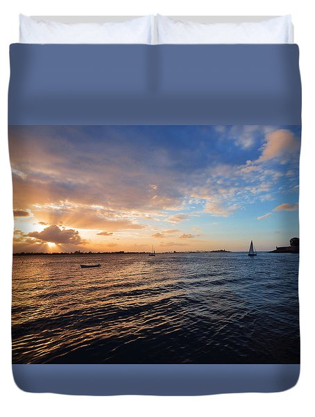 Duvet Cover featuring the photograph Semblance 3769 by Ricardo J Ruiz de Porras