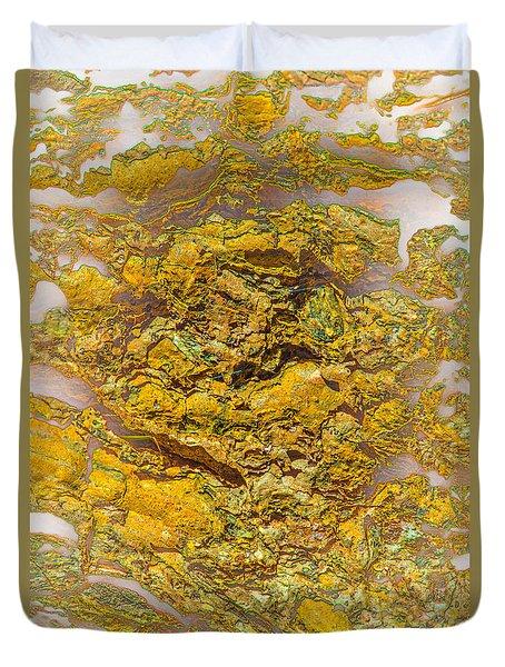 Semi Translucent Bark Abstract Duvet Cover