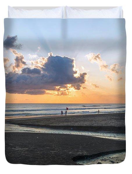 Seminyak Beach - Bali Duvet Cover