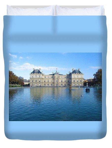 Senat From Jardin Du Luxembourg Duvet Cover