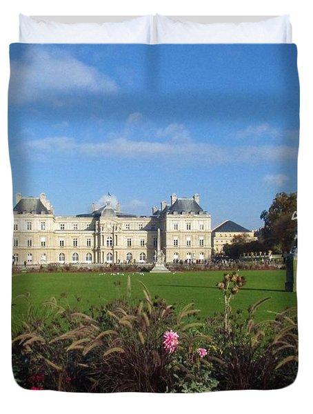 Senate From Jardin Du Luxembourg Duvet Cover