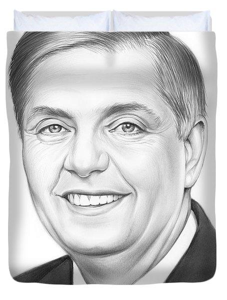 Senator Lindsey Graham Duvet Cover