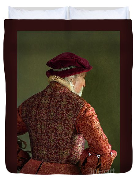 Senior Tudor Man Duvet Cover