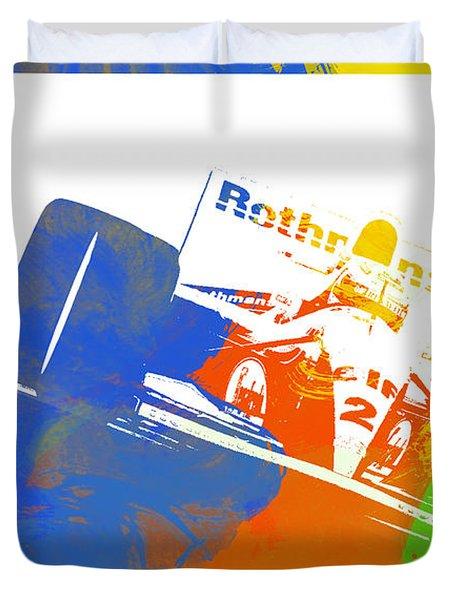 Senna Duvet Cover by Naxart Studio